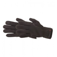 Tempest Windstopper Touch Tip Fleece Gloves - Men's - Black In Size by Manzella