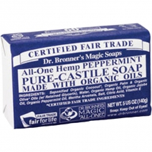 Dr. Bronners Magic Soaps Peppermint Soap - Liquid Soap 32OZ by Dr Bronner's