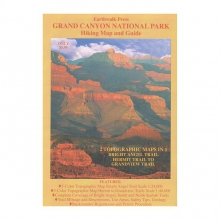 Grand Canyon National Park Hiking Map and Guide by Partners/ West Book Dist., Inc