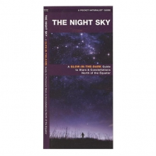Night Sky: A Glow-in-the-Dark Guide to Prominent Stars & Constellations North of the Equator in Pocatello, ID