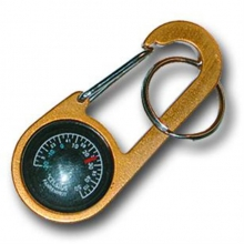 Clip-It Compass and Thermometer Key Ring in Peninsula, OH