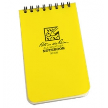 "Top Spiral Notebook 3""x5"" - Yellow in Traverse City, MI"