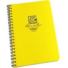 "Side Spiral Notebook 5""x7"" - Yellow in Peninsula, OH"