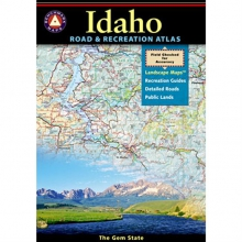 Benchmark Road & Recreation Atlas: Idaho by Benchmark Maps