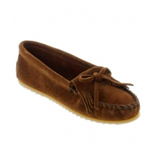 - Kilty Suede Moccasin Brown by Minnetonka