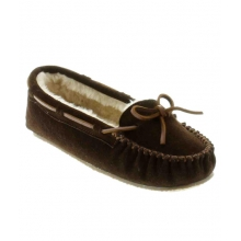 - Cally Slipper Chocolate by Minnetonka