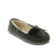 - Cally Slipper Grey by Minnetonka