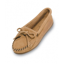 - Kilty Suede Moccasin Tan by Minnetonka