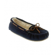 - Cally Slipper Navy by Minnetonka