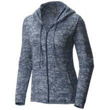 Women's Burned Out Full Zip Hoody