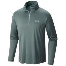 Men's Wicked Long Sleeve Zip T by Mountain Hardwear