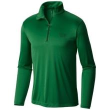 Wicked Long Sleeve Zip T by Mountain Hardwear