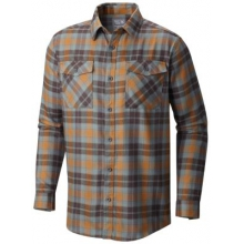 Trekkin Flannel Long Sleeve Shirt by Mountain Hardwear in Coeur Dalene Id