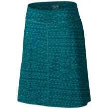 Women's DrySpun Perfect Printed Skirt by Mountain Hardwear