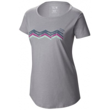 Women's Abstract Mountain Short Sleeve T