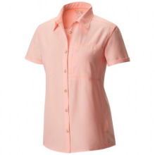 Women's Canyon Short Sleeve Shirt by Mountain Hardwear in East Lansing Mi