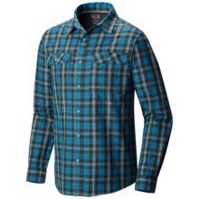 Men's Canyon Plaid Long Sleeve Shirt by Mountain Hardwear