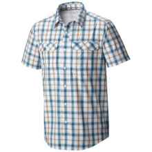 Men's Canyon Plaid Short Sleeve Shirt by Mountain Hardwear in Ofallon Il