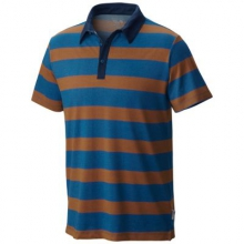 Men's ADL Striped Short Sleeve Polo