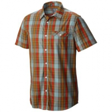 Men's Farthing Short Sleeve Shirt by Mountain Hardwear in Sylva Nc