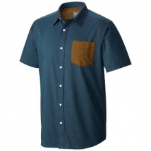 Men's Dervin Short Sleeve Shirt by Mountain Hardwear in Coeur Dalene Id