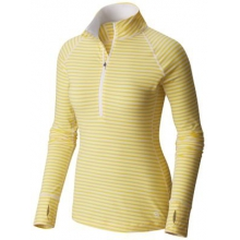 Butterlicious Stripe Long Sleeve 1/2 Zi by Mountain Hardwear