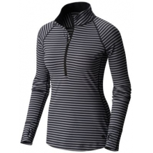 Butterlicious Stripe Long Sleeve 1/2 Zi by Mountain Hardwear in Coeur Dalene Id