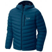 StretchDown Hooded Jacket by Mountain Hardwear in Ponderay Id
