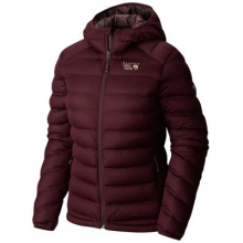 StretchDown Hooded Jacket by Mountain Hardwear in Peninsula Oh