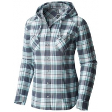 Stretchstone Hooded Long Sleeve Shirt by Mountain Hardwear in Ponderay Id