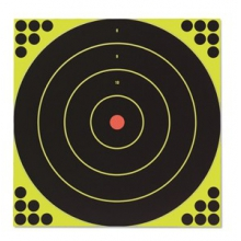 "Shoot-N-C® Self-Adhesive 12"" Bull's-Eye Pack by Birchwood Casey"