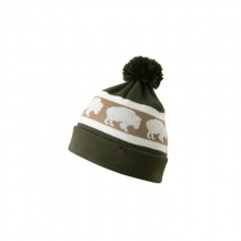 Bison Pom Beanie by Mountain Khakis in Greenville Sc