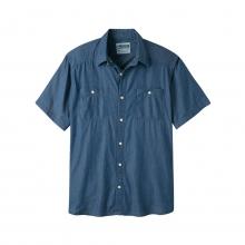 Ace Indigo Short Sleeve Shirt by Mountain Khakis