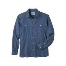 Men's Ace Indigo Long Sleeve Shirt by Mountain Khakis