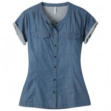 Women's Amie Indigo Short Sleeve Shirt by Mountain Khakis in Burlington Vt