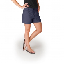 Women's Stretch Poplin Short by Mountain Khakis in Loveland Co