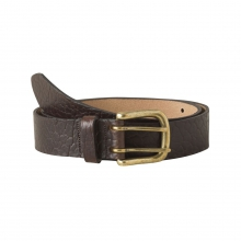 Vintage Brass Bison Belt by Mountain Khakis