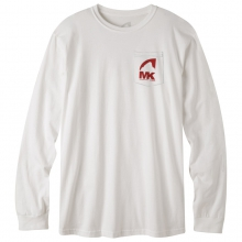 Logo Long Sleeve Pocket T-Shirt by Mountain Khakis