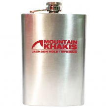 Stainless Steel Bison Flask by Mountain Khakis