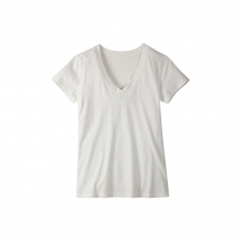 Women's Anytime V-Neck Shirt by Mountain Khakis in Florence Al