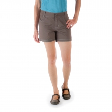 Women's Stretch Poplin Short by Mountain Khakis in Milwaukee Wi