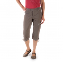 Women's Stretch Poplin Capri