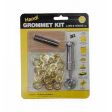 Brass Grommet Kit Size 4 (1/2 in by Lord & Hodge
