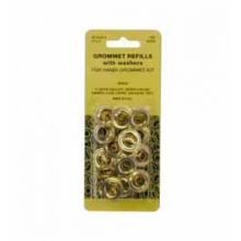 Brass Grommet Kit 3/8 in. Refills by Lord & Hodge