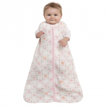 SleepSack Wearable Blanket Cotton Muslin Elephant Pink Medium by Halo in Columbia SC