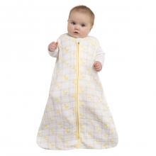 SleepSack Wearable Blanket Cotton Muslin Giraffee Yellow Medium by Halo in Columbia SC