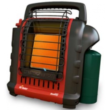 Portable Buddy Propane Heater - Black by Mr. Heater
