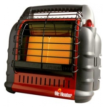 Portable Big Buddy Propane Heater - Black by Mr. Heater