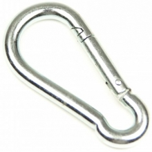 Galvanized Steel Snap Hook 2 3/8 in. by Sea-lect Designs