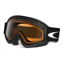 L-frame Snowsport Goggles - Matte Black/Persimmon by Oakley